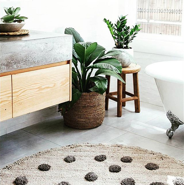 Ditch The Bath Mat: Luxe Area Rug Ideas For Your Bathroom