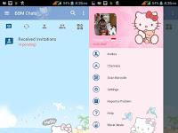 Download BBM MOD Hello Kitty v3.2.5.12 APK