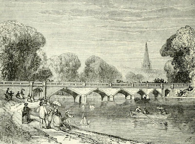 Bridge over the Serpentine  from Old and New London by E Walford (1878)
