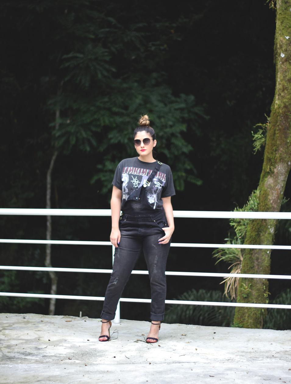Look do Dia: Macacão Jeans