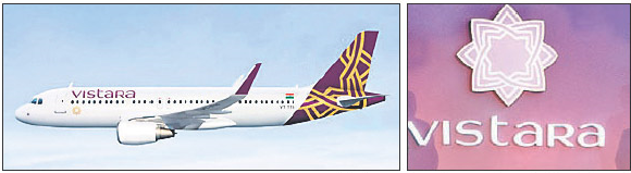 Vistara Airlines Images, wall papers, pictures . Tata Airlines, Singapore Airlines joint Venture