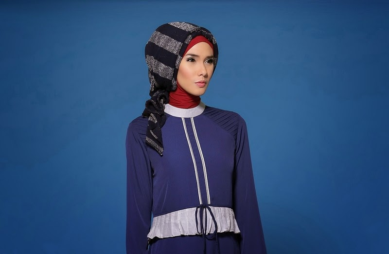 Model Jilbab Pesta Fun