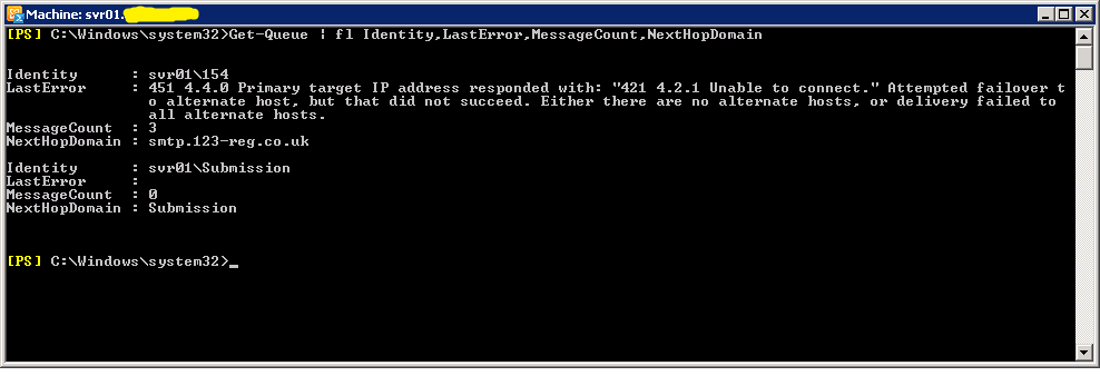 Technical Deep Dive: 451 4.4.0 Primary target ip address responded