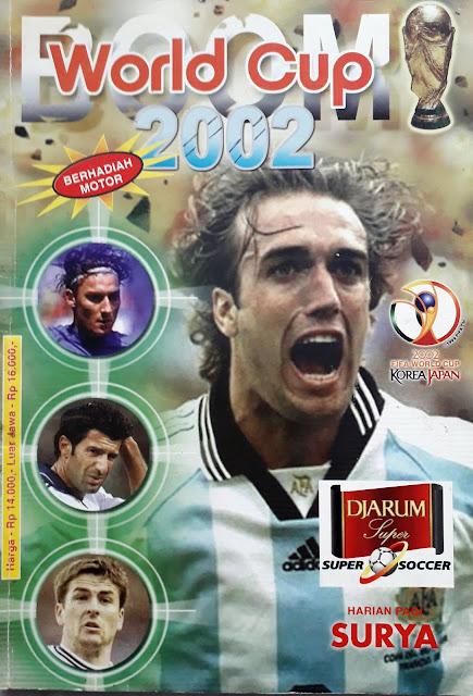 BUKU BOOM WORLD CUP 2002