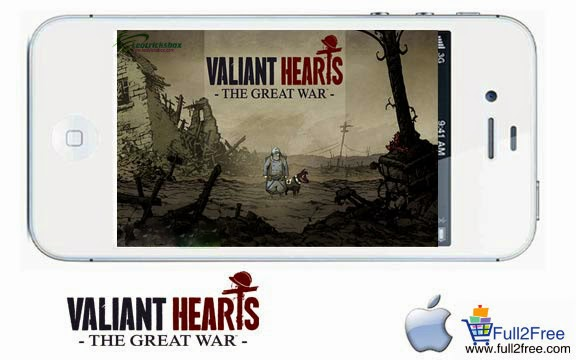 iOS Game : Valiant Hearts The Great War v1.0.1