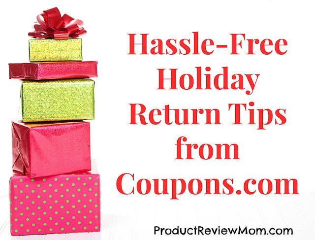 Hassle-Free Holiday Return Tips from Coupons.com  via  www.productreviewmom.com