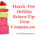Hassle-Free Holiday Return Tips from Coupons.com