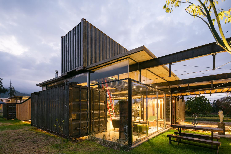 Casas modulares y prefabricadas de dise o la casa de metal y cristal - Casas modulares home 3 ...