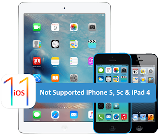 ios-11-not-supported-iphone-5-5c-n-ipad-4 iPhone 5, 5C and iPad 4 Users in Serious Trouble Root