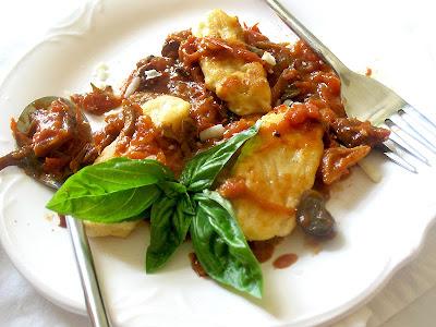 Ricotta Gnudi with Homemade Chunky Tomato Sauce