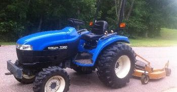 New Holland Agriculture Manual PDF: New Holland TC29D, TC33D Tractor on
