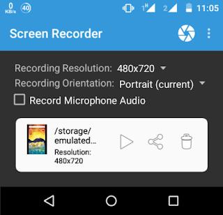 Aplikasi Screen Recorder Rekam Layar Android