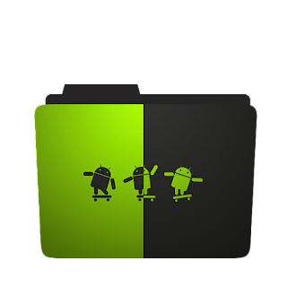 Android Logo Folder Icon