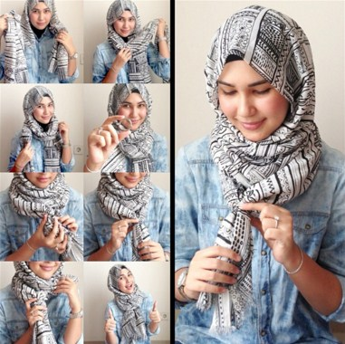 Hijab Simple Casual