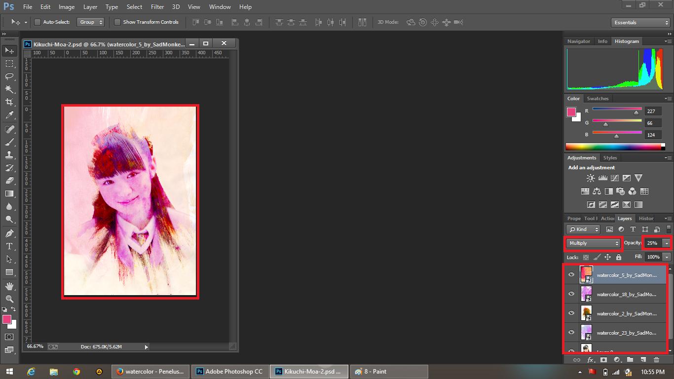 Cara Membuat Efek WaterColor Pada Photoshop CC