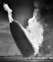 Hindenburg disaster, in the public domain