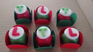 trufa italiana verde e vermelha