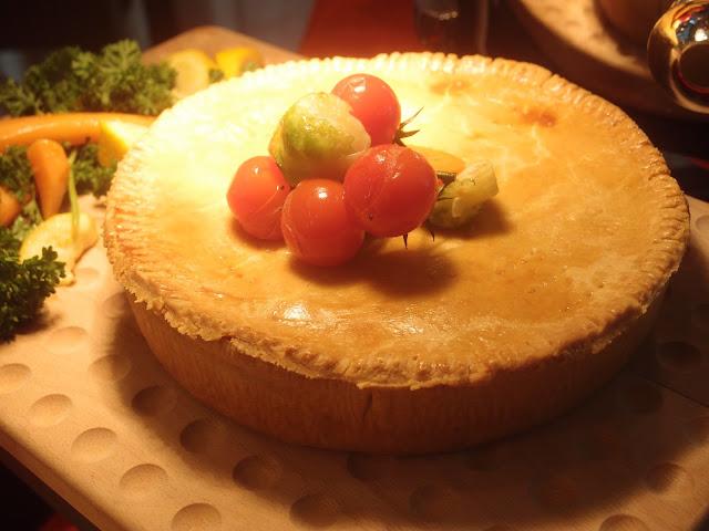 Home Baked Turkey Pie