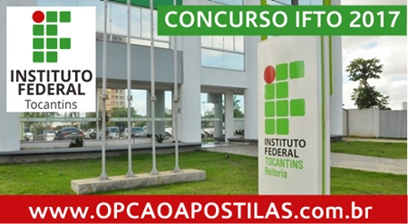 Apostila IFTO 2017