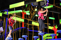 Indoor Ropes Course Attraction near the Great Smoky Mountains