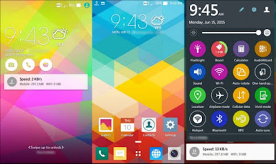 Tema Zenfone 2 Zen Colorfull Final