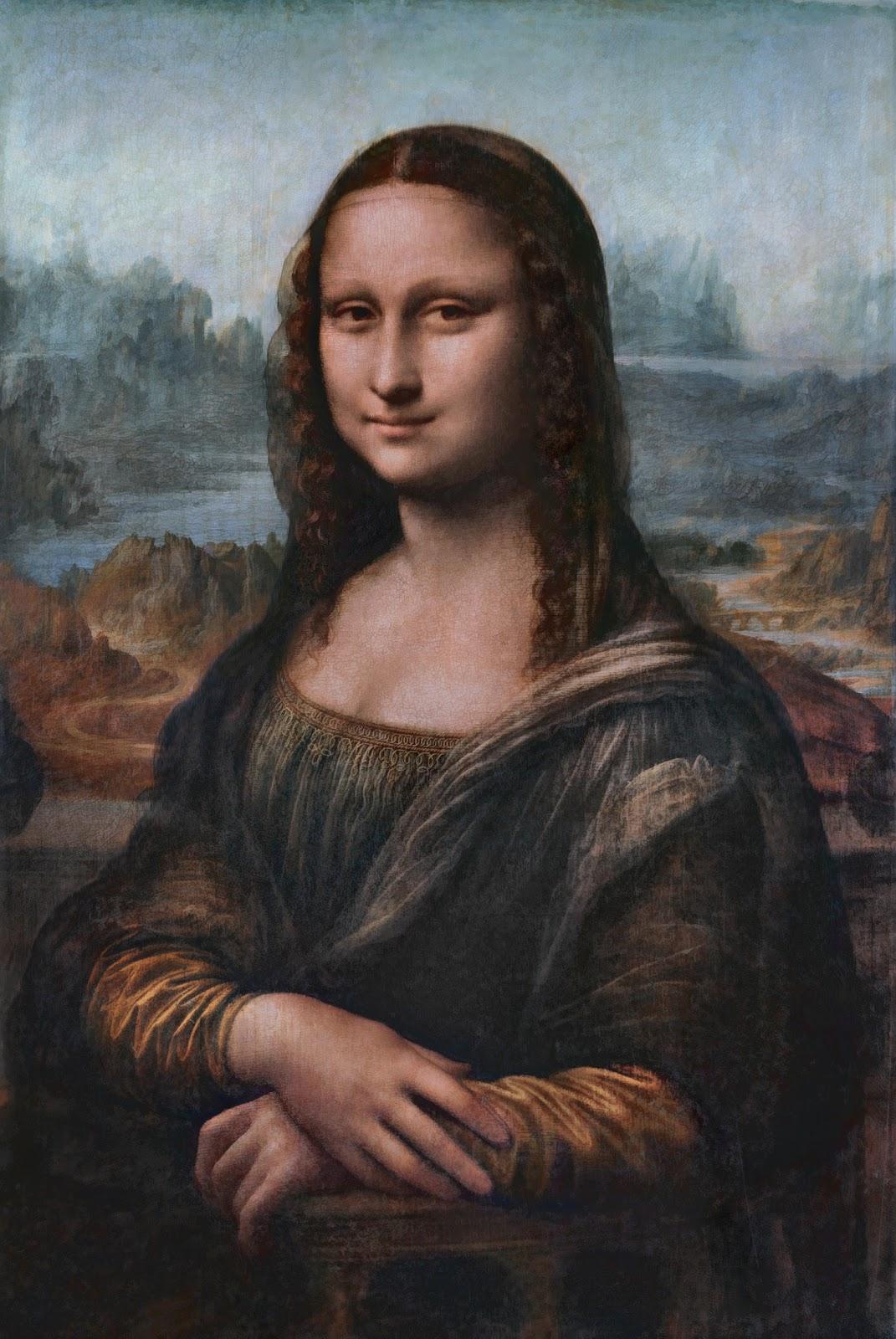 Leonardo da Vinci | Mona Lisa, Portrait of Lisa Gherardini ... Da Vinci Mona Lisa