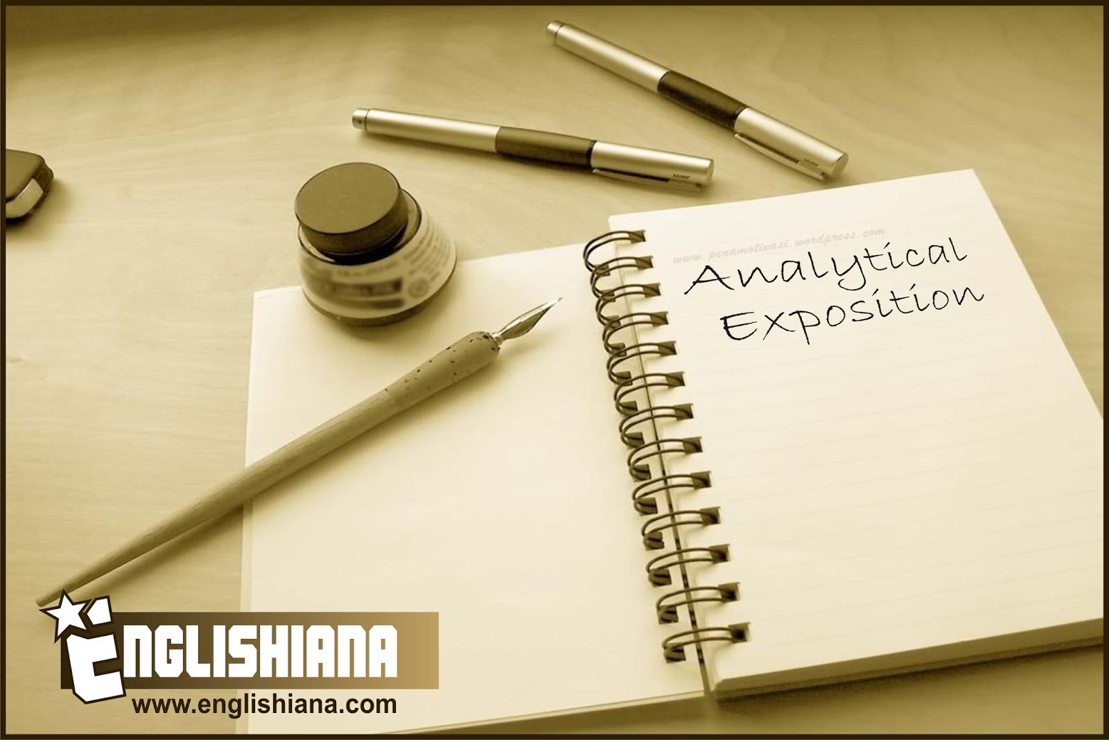 Penjelasan Lengkap Dan Contoh Analytical Exposition Text Terbaru