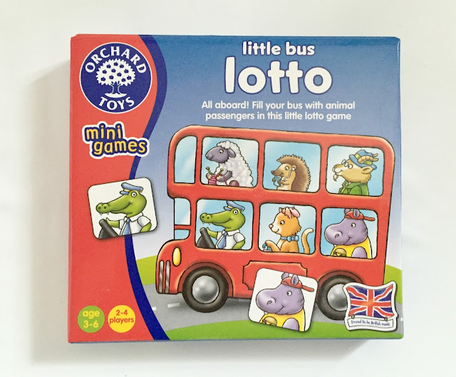 Orchard Toys Little Bus Lotto Mini Travel Game
