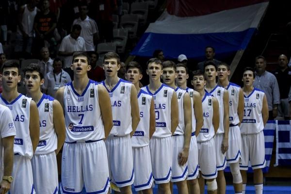Ευρωπαϊκό Παίδων U16β: Ελλάδα-Ολλανδία 74-60. Πρωτιά και άνοδος στην Α κατηγορία για τους «μικρούς». MVP ο Νίκος Ρογκαβόπουλος