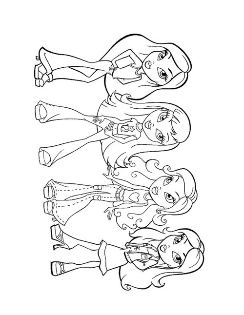 cute coloring pages for girls | Cute Girl Coloring Pages For Kids >> Disney Coloring Pages