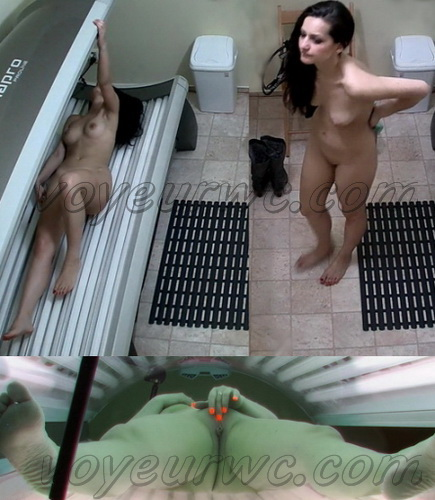 Solarium 171-175 (Hidden Camera at the Solarium. Hidden camera catches hot girls masturbating at solarium)