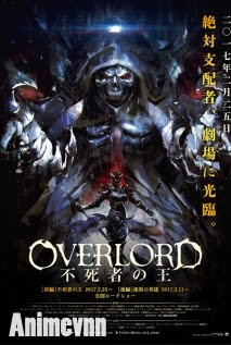 Overlord Movie 1: Fushisha no Ou -  2017 Poster