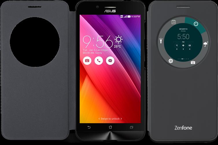 Asus Zenfone Go:problema schermo non si attiva con view flip cover