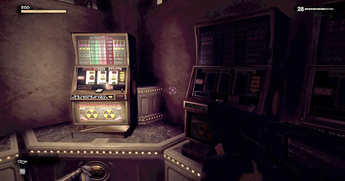 Duke nukem slot machine