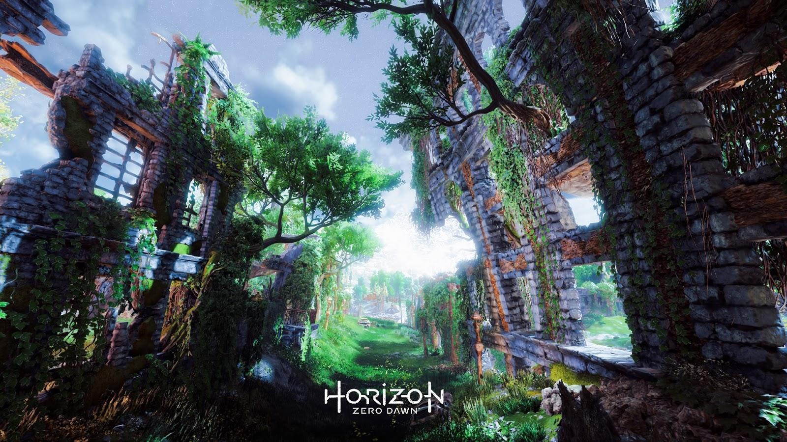 ホライゾンゼロドーン HorizonZeroDawn 壁紙 写真 PC画像 スマホ画像 壁紙 神ゲー 家ゲーRPG イラスト 実写のような
