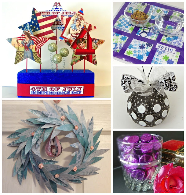 Favorite projects by Lisa Fulmer for National Craft Month