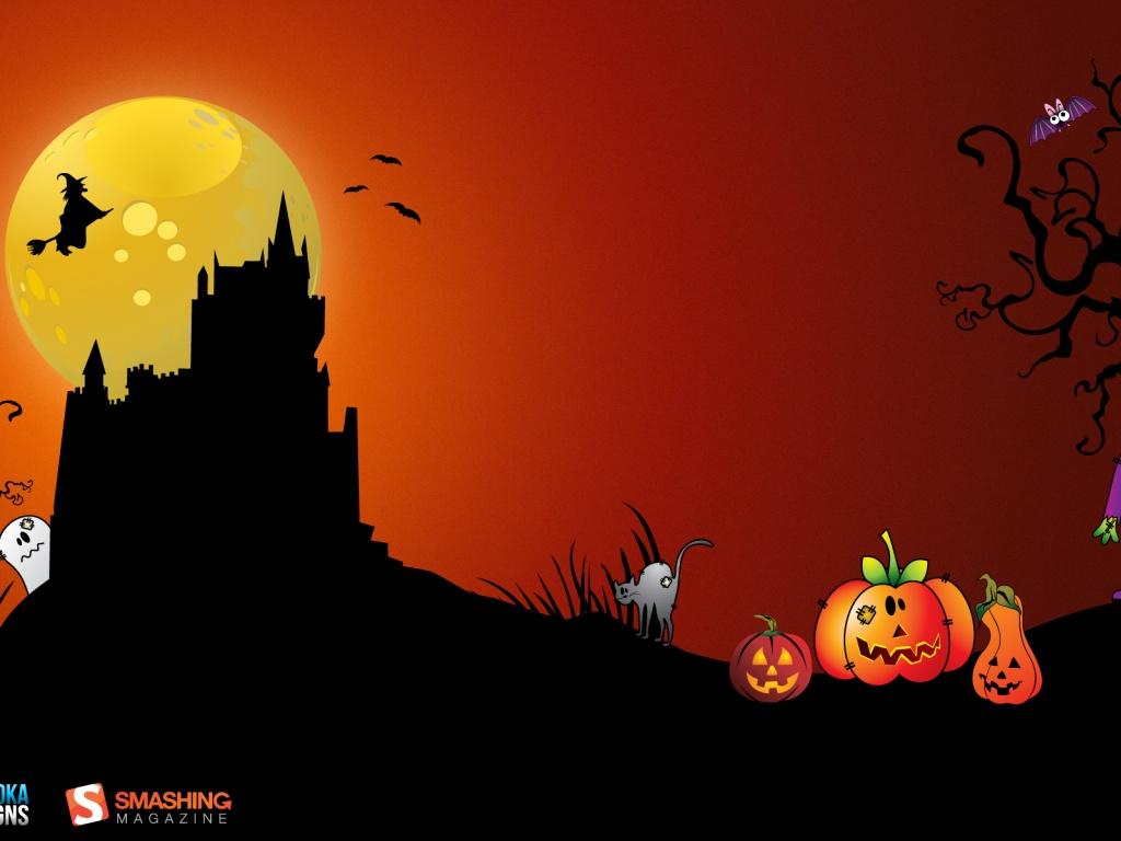 Free Desktop Wallpaper: Halloween Wallpaper Background