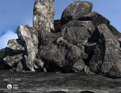 Rock My World - Iray Boulders