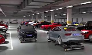 Как работает робот парковщик-автомобилей Geta?