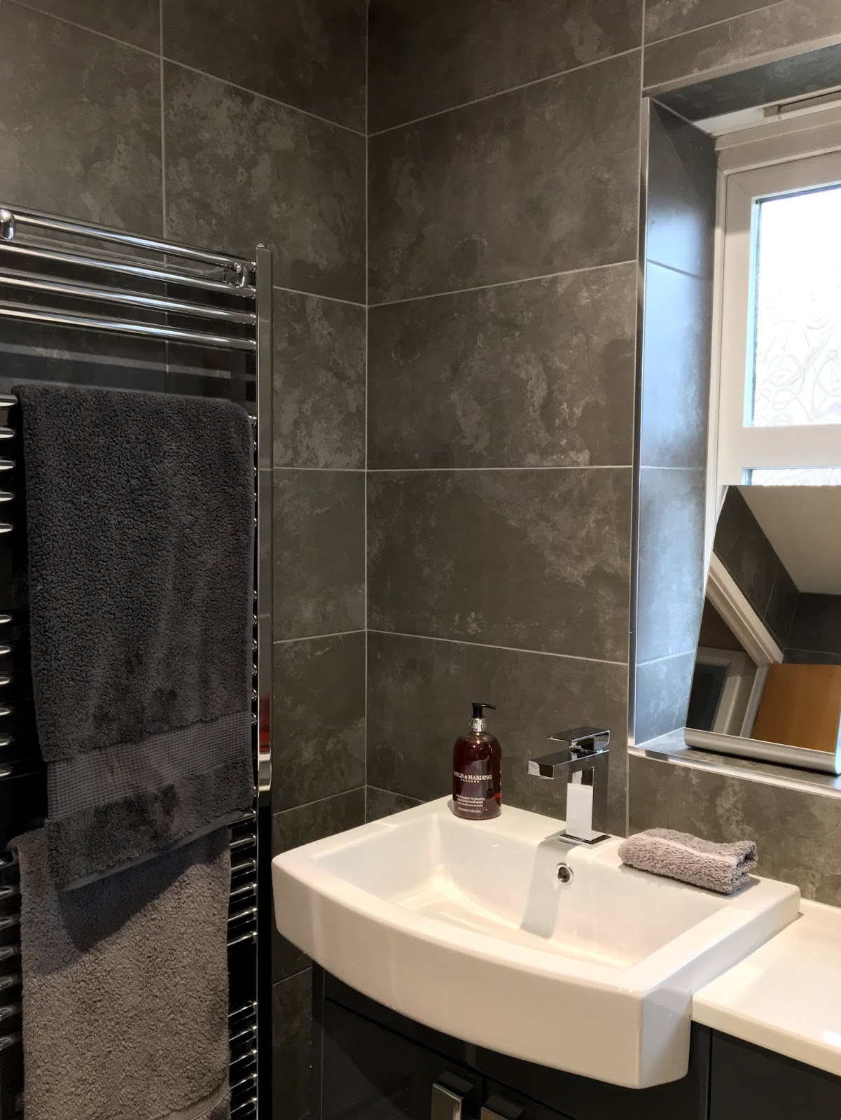 Chrome Heated Towel Rail