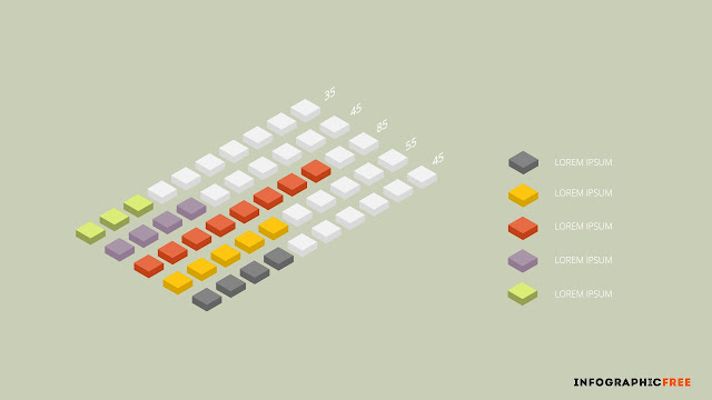 isometric chart elements