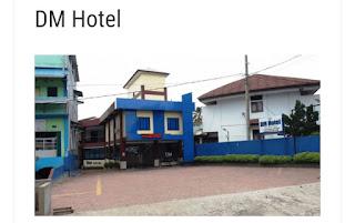 Menginap di DM hotel bengkulu