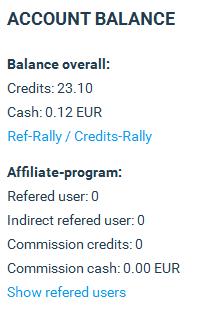 Check your  Account Balance.