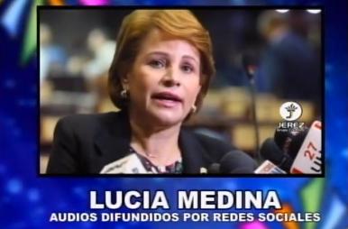 """AUDIO Y VÍDEO: Lucía Medina: """"Nos vamos a reelegir todos , no es Danilo nada más"""" @EntreJerez"""