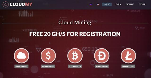 cloud mining free ghs
