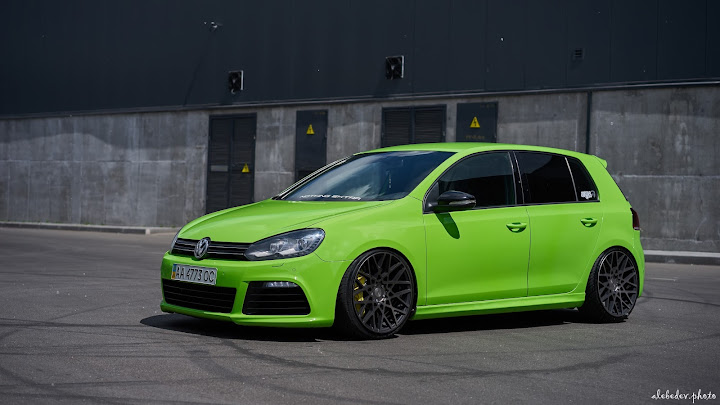green Golf 6R #nothing_extra Rotiform BLQ