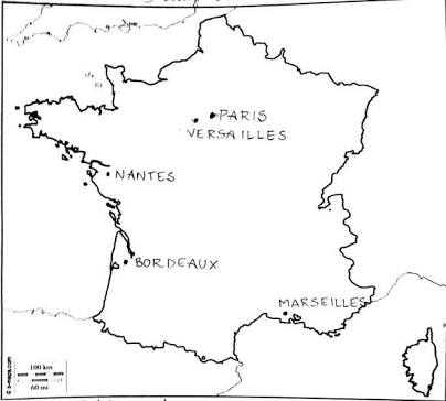 Versailles Map Of France.Maps Of Term I