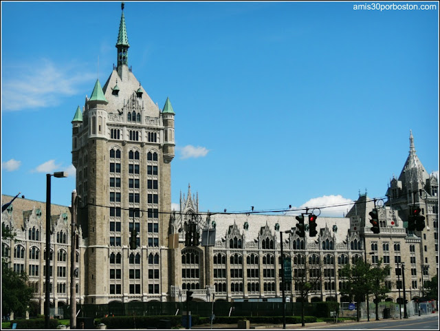 Edificio de la State University of New York en Albany