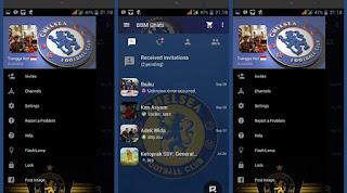 BBM MOD Chelsea versi terbaru 3.0.0.18 APK dan versi Lama