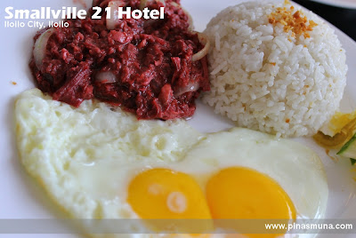 Breakfast at Smallville 21 Hotel in Iloilo City